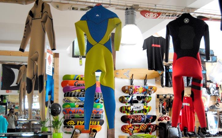 Surfoz Surfshop Caldas da Rainha, tradicional commerce, Gocaldas, your Local Touristic Guide