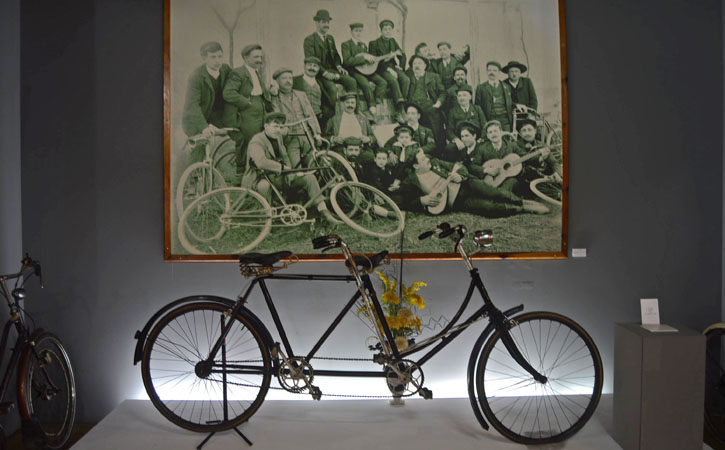 Cycling Museum, Caldas da Rainha old bike GoCaldas Your Local Touristic Guide
